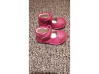 """""""Clarks"""" 3G pink boot/shoes."""