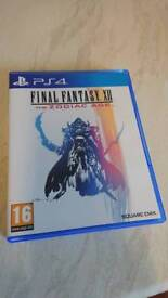 Final Fantasy 12 TZA Ps4 mint condition (updated)