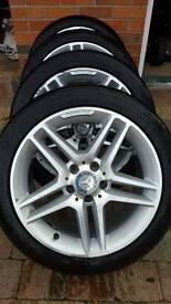 Original Mercedes-Benz AMG alloys