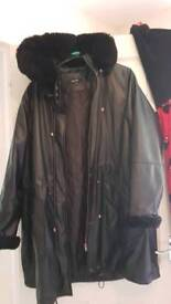 Plus size coat like new size 22
