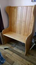 REDUCED!!! Monks Bench