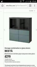 Ikea Besta storage unit frame only