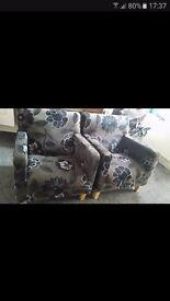 X2 arm chairs