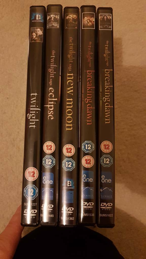 Twilight saga complete DVD set