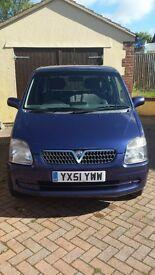 Vauxhall Agila 2001 MOT JULY