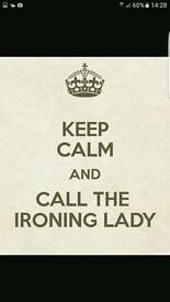 Ironing lady and laundry service
