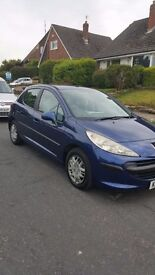 Peugeot 207 1.4 £900