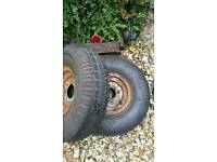 Trailer wheels/tyres
