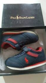 Ralph Lauren Baby Trainers 7 UK