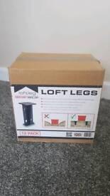 Loft Legs Loft attic false floor joist raisers X12
