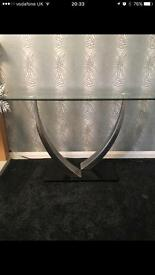 £159 for 3 Sterling glass console tables