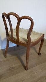 Unique Antique wooden chair