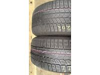 2X 265 60 18 (110H) Continental Winter Contact M+S MO Extra Load Tread 5MM for only £79