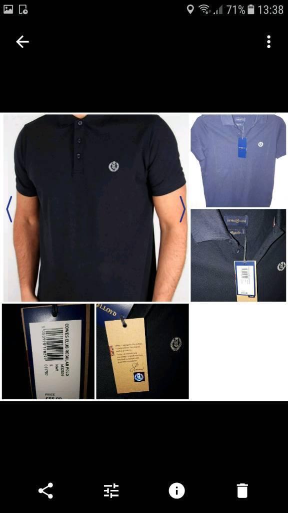 Brand new with tags henri lloyd tshirt small