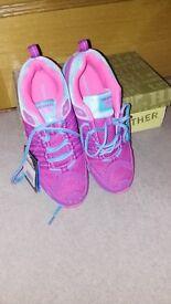 Ladies/ Girls Size 7 Trainer - Purple/Pink/Blue