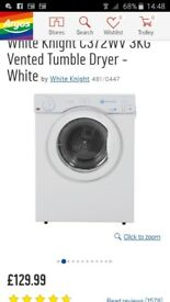 White Knight dryer