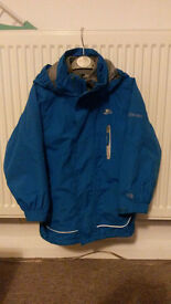 Boys jacket Trespass 3in1