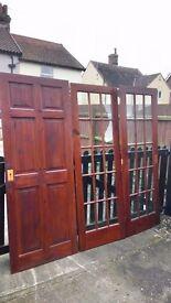 3 Interior pine doors
