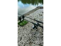 Nash dwarf rods and reels