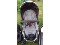 iCandy peach pushchair in very good clean condition + cup holder iCandy extra