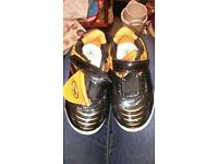 Toddler Size 8 trainers football style shoes.