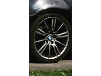 BMW mv3 wheel / alloy in graphite grey