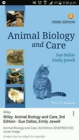 Animal care and biology by sue dallas