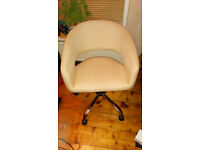 Argos Fabric Tub Style Office Chair