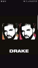 4 Drake Tickets 02 Arena London (30th January 2017)