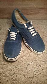 Blue Vans UK Size 10.5