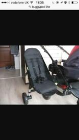 Buggypod lite, adds the extra seat to your pushchair. £25