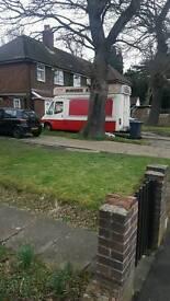 Kebab van + burger van + catering trailer