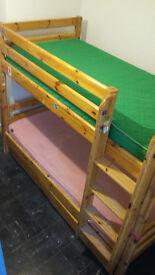 Flexa Bunk Bed Frame (mattresses optional)