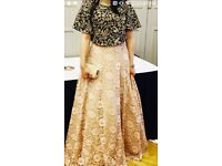 Indowestern skirt and Blouse