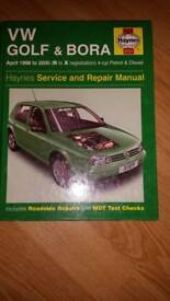 Haynes car repair book