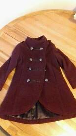 Gorgeous Girls Winter Coat age 4 - Immaculate condition