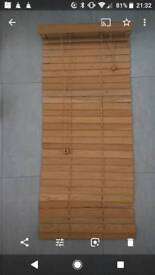 3 wooden oak venetian blinds 50mm wood slats - £15 each or all 3 for £40