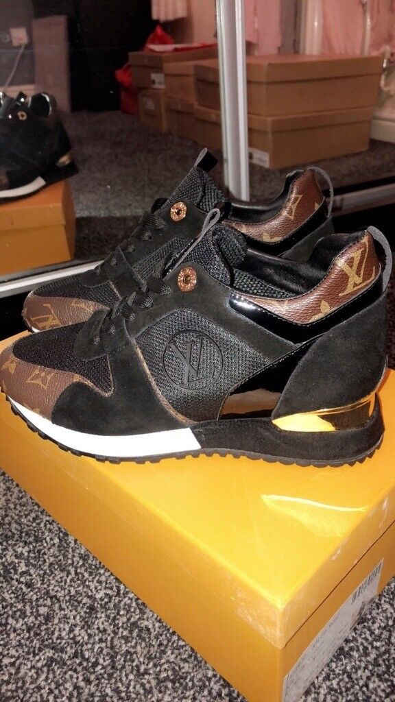 adc7f34607a1 womens louis vuitton trainers runners sneakers size 4 £150 like original