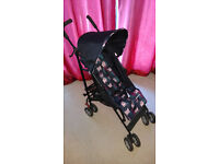 Mothercare Stroller (Pram, Buggy, Baby Carrier, Push Chair) with Footmuff and rain cover - Like new