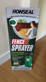 Ronseal fence sprayer used once paid £23
