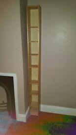 CD shelf wooden