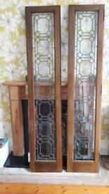 Glass doors for an Edinburgh press