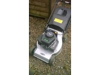 Special edition v35 150cc petrol lawnmower push type release brake engine stops collection box