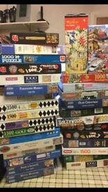Jigsaw puzzles £3 each 1000 piece all in excellent cond can sell lot for reasonable price
