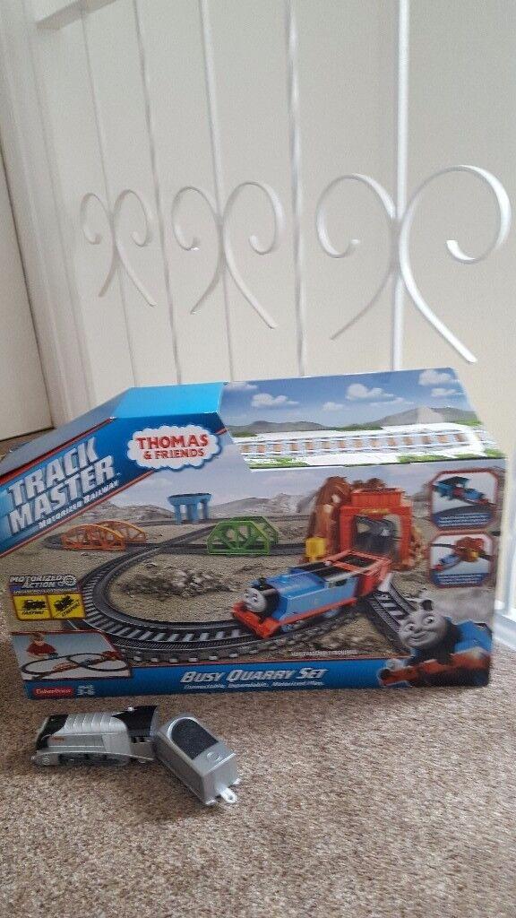 Thomas trackmaster Busy quarry set