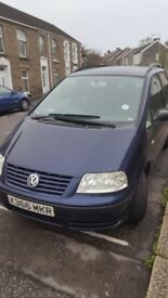 VW SHARAN for parts/not working