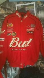 Mascar racing jacket - busweiser - chevy