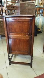 Marriage Piece Old Bedroom Cabinet & Gramaphone Turntable