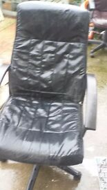 black office chair good condition only £7.00
