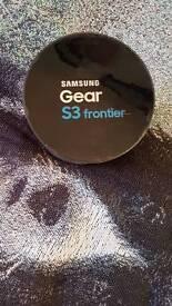 Samsung galaxy gear s 3 frontier smart watch
